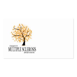 Árbol de la esclerosis múltiple tarjetas de visita