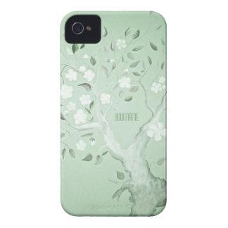 Árbol de la fantasía Case-Mate iPhone 4 protector