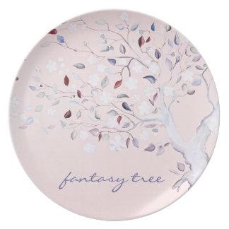 Árbol de la fantasía plato