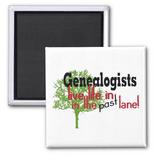 Árbol de la genealogía imán