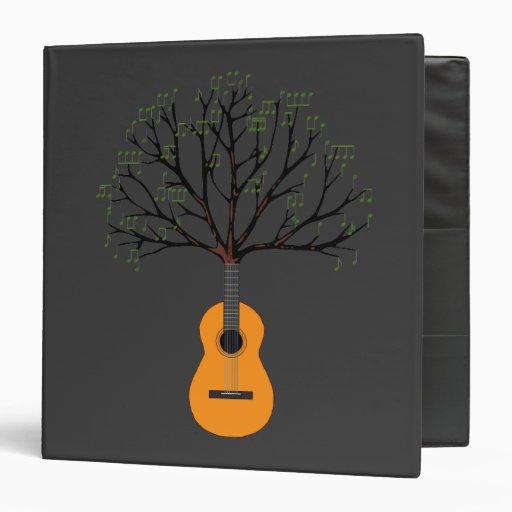 """Árbol de la guitarra carpeta 1 1/2"""""""