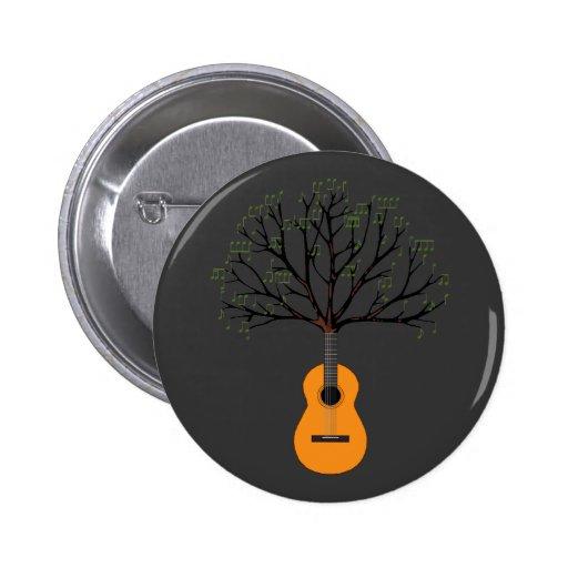 Árbol de la guitarra pin