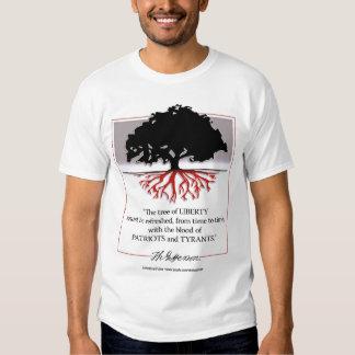 Árbol de la libertad remeras