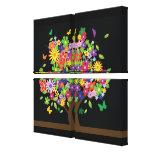 Árbol de la mariposa - impresión de la lona - SRF Lienzo Envuelto Para Galerías