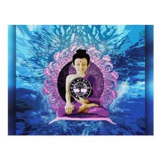 Árbol de la meditación y de la paz de la vida tarjetas postales