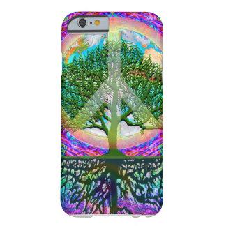 Árbol de la paz de la vida funda de iPhone 6 slim