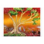 Árbol de la pintura de aerosol contra v1 anaranjad invitación