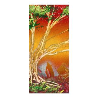 Árbol de la pintura de aerosol contra v1 anaranjad lonas personalizadas