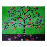 Árbol de la pintura de la vida impresiones fotográficas