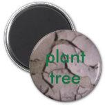 árbol de la planta imán para frigorífico