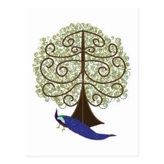 Árbol de la postal de la vida