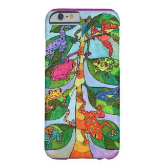 Árbol de la rana de Oaxacan de la vida Funda De iPhone 6 Barely There
