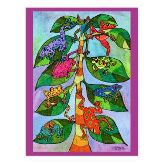 Árbol de la rana de Oaxacan de la vida Postal