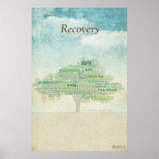 Árbol de la recuperación póster