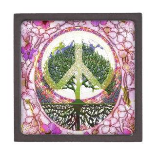 Árbol de la respiración de vida de la vida caja de regalo de calidad