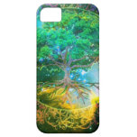 Árbol de la salud de la vida iPhone 5 Case-Mate protectores