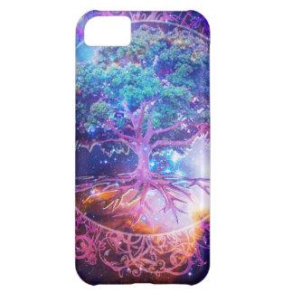 Árbol de la salud de la vida funda para iPhone 5C
