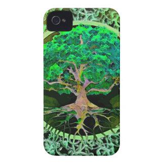 Árbol de la salud y de la prosperidad de la vida iPhone 4 cobertura