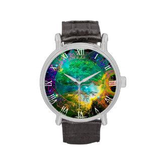 Árbol de la salud y de la vitalidad de la vida relojes de pulsera