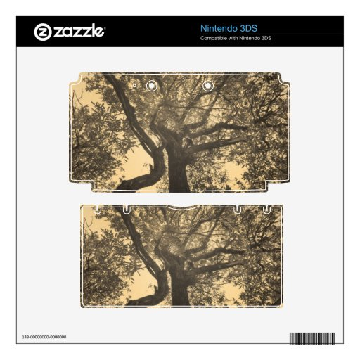 Árbol de la sepia skins para 3DS