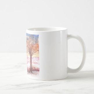 Árbol de la serenidad taza básica blanca