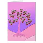 Árbol de la tarjeta del día de San Valentín