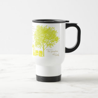Árbol de la taza cristiana del viaje de la escritu