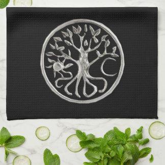 Árbol de la toalla de cocina de la vida
