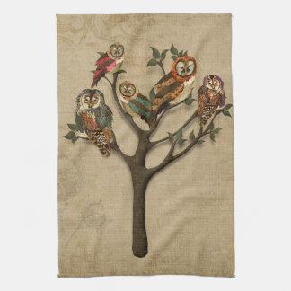 Árbol de la toalla de los búhos