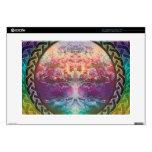 Árbol de la tranquilidad de la vida en colores del portátil 38,1cm skin
