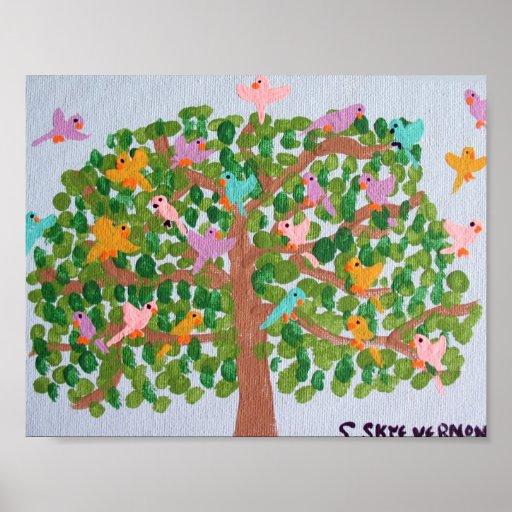 Árbol de la vida -14x11 póster
