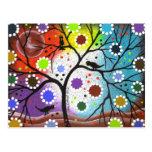 árbol de la vida #22 por Lorri Everett Tarjeta Postal