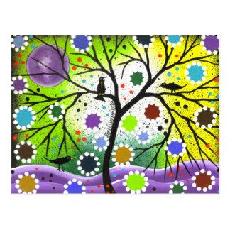 Árbol de la vida #33 por Lorri Everett Postal