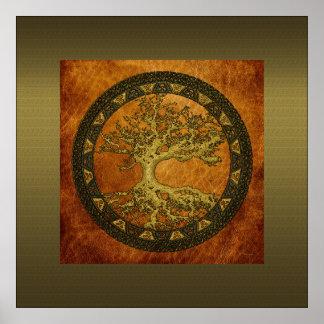 Árbol de la vida antiguo impresiones