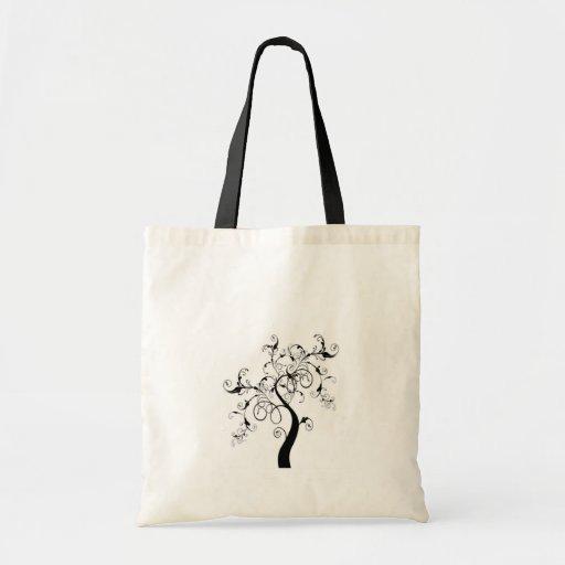 Árbol de la vida blanco y negro