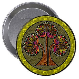 Árbol de la vida (botón del Swag) Pins