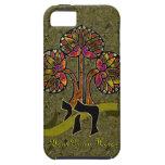 Árbol de la vida (caja personalizada del ambiente  iPhone 5 Case-Mate protectores