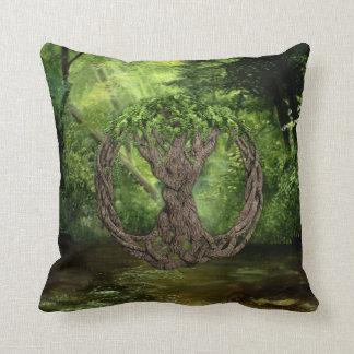 Árbol de la vida céltico cojín