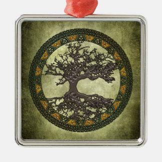 Árbol de la vida céltico ornamento para arbol de navidad