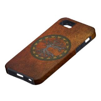 Árbol de la vida céltico iPhone 5 protectores