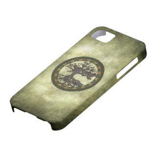 Árbol de la vida céltico iPhone 5 Case-Mate carcasas
