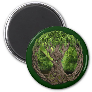Árbol de la vida céltico imán para frigorífico