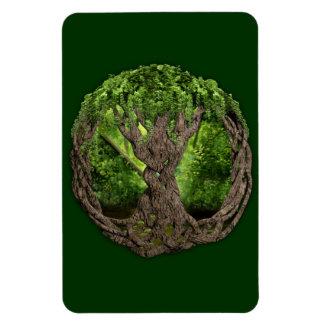 Árbol de la vida céltico imán de vinilo