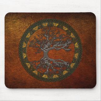 Árbol de la vida céltico alfombrilla de ratones