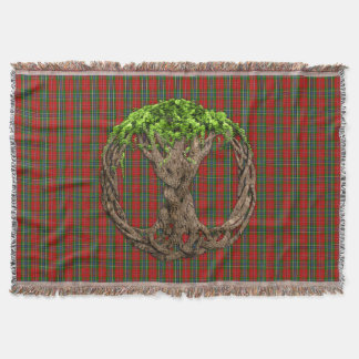 Árbol de la vida céltico y clan MacLean de Duart Manta