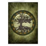 Árbol de la vida céltico [Yggdrasil] Felicitación