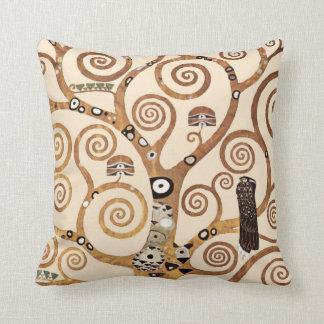 Árbol de la vida de Gustavo Klimt Almohadas