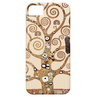 Árbol de la vida de Gustavo Klimt Funda Para iPhone 5 Barely There