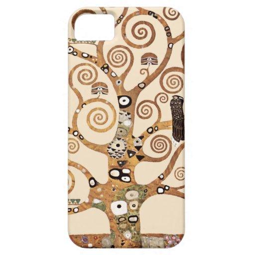 Árbol de la vida de Gustavo Klimt Funda Para iPhone SE/5/5s
