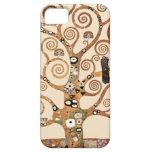 Árbol de la vida de Gustavo Klimt iPhone 5 Carcasa